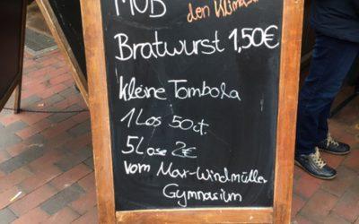 Zweiter CarrotMob des Max-Windmüller-Gymnasiums Emden